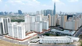 Khu dân cư tại phường Bình Khánh, một trong 4 phường sáp nhập tại quận 2