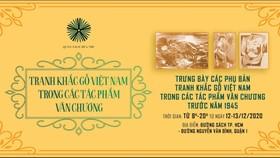 Trưng bày tranh khắc gỗ Việt Nam trong các tác phẩm văn chương
