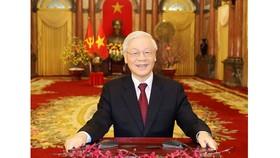 Tổng Bí thư, Chủ tịch nước Nguyễn Phú Trọng gửi điện chúc mừng Hội đồng Toàn quốc Đảng Cộng sản Pháp