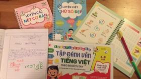 Một số đầu sách trong Cùng con đọc sách Việt