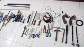 Bắt nhóm trộm cắp liên tỉnh