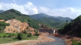 Hồ chứa Đồng Mít bắt đầu tích nước chống hạn