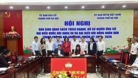 Hà Nội: 30 người tự ứng cử đại biểu Quốc hội khóa XV