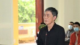 Bị cáo Trần Đức Thạch. Nguồn: Công an nhân dân