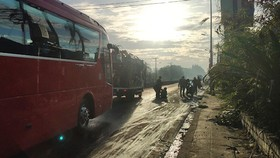 Đường trơn trượt gây tai nạn nhiều năm vẫn chưa xử lý