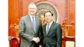 Tiếp tục thúc đẩy hợp tác nhiều mặt giữa TPHCM và Hoa Kỳ
