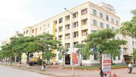 Nhà ở xã hội Đặng Xá (Gia Lâm), hình mẫu trong phát triển nhà ở xã hội của TP Hà Nội. Ảnh: VIẾT CHUNG