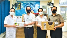 Nestlé Việt Nam hỗ trợ Y tế tuyến đầu chống dịch Covid-19
