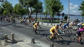Sự kiện đạp xe ở Istanbul, Thổ Nhĩ Kỳ. Nguồn: xinhuanet.com