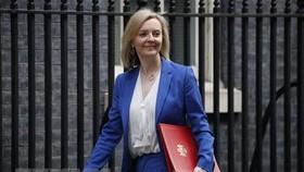 Bộ trưởng Thương mại Quốc tế Vương quốc Anh Liz Truss tại thủ đô London. Ảnh: TTXVN