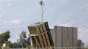 Hệ thống tên lửa đánh chặn Vòm Sắt của Israel. Ảnh: TTXVN
