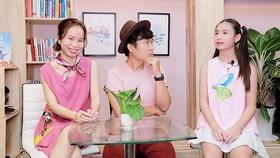 Anh Nguyễn Anh Luân - chị Đồng Lê Quỳnh Hương và bạn Nguyễn Ngọc Tuyết Anh (ảnh chụp trước khi dịch Covid-19 bùng phát)