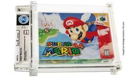 Băng video game Super Mario 64. Nguồn: Heritage Auctions