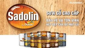 AkzoNobel ra mắt Sadolin - dòng sơn gỗ cao cấp