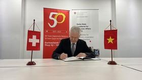 Kỷ niệm Quốc khánh Thụy Sĩ theo hình thức trực tuyến
