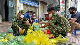 Ngày đầu tiên cán bộ, chiến sĩ xuất quân phòng, chống dịch trên địa bàn TPHCM
