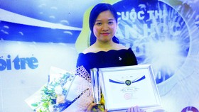 Tác giả Mai Thảo Yên nhận giải nhì tại cuộc thi Văn học tuổi 20 lần 6