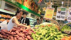 Thực phẩm tươi sống phong phú,  đáp ứng nhu cầu của thị trường
