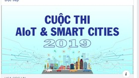 Tổ chức cuộc thi AIoT & Smart Cities 2019