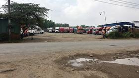 Thiếu bến bãi xe tải