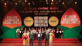 """Dai-ichi Việt Nam nhận danh hiệu """"Top 20 Nhãn hiệu nổi tiếng Việt Nam 2019"""""""