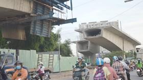 Công trình giao thông trọng điểm bị ngưng trệ