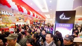 Người dân thị xã Thái Hòa háo hức đón trung tâm thương mại đầu tiên tại địa phương