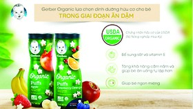 Nan Organic 3 và Gerber Organic - dinh dưỡng hữu cơ cho trẻ