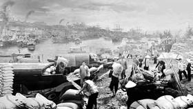 """Hình ảnh trong phim tài liệu """"Ra biển lớn"""". Ảnh: TFS"""