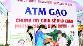 Vedan Việt Nam chung tay nhân rộng mô hình ATM gạo hỗ trợ đồng bào bị ảnh hưởng bởi dịch bệnh Covid-19