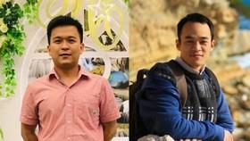Anh Nguyễn Ngọc Tâm (bên trái) và anh Nguyễn Nho (bên phải) vừa sở hữu chứng chỉ TensorFlow. Ảnh: hanoi.fpt.edu.vn
