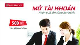 Mở tài khoản - nhận quà lớn và tham gia các chương trình khuyến mại tại các điểm giao dịch trực thuộc Agribank Đồng Nai