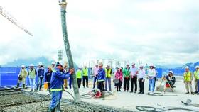 Hòa Bình cất nóc vượt tiến độ dự án Lady Hill Resort, Sa Pa