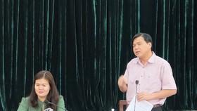 Trưởng Ban Văn hóa - Xã hội HĐND TPHCM Tăng Hữu Phong phát biểu kết luận buổi giám sát. Ảnh: https://hcmcpv.org.vn