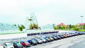 Đoàn của Ford Việt Nam đang hoạt động cứu trợ tại các tỉnh miền Trung