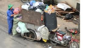 Chuyển đổi lực lượng thu gom rác dân lập đạt 88,5%
