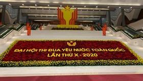 Đại hội Thi đua yêu nước toàn quốc lần thứ X khai mạc vào ngày 10-12 tại Trung tâm Hội nghị Quốc gia, Hà Nội. Ảnh: VGP