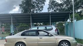 Chiếc xe Deawoo vừa được tìm thấy