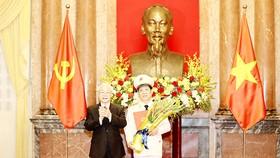 Thứ trưởng Bộ Công an Nguyễn Văn Sơn được thăng hàm Thượng tướng