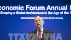 Ông Klaus Schwab, Chủ tịch điều hành Diễn đàn Kinh tế thế giới (WEF). Ảnh: THX/TTXVN