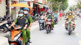 Phối hợp tuần tra kiểm soát để trấn áp tội phạm