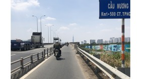 Khổ vì đường song hành cao tốc TPHCM - Long Thành - Dầu Giây chưa xong