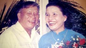Trung tướng Lê Nam Phong và vợ. Ảnh: Tư liệu
