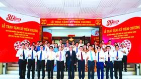 Lễ trao tặng kỷ niệm chương tri ân sự cống hiến và thành quả đạt được cho 139 nhân viên Vedan Việt Nam