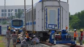 Đoàn tàu thứ 2 lên đường ray Metro số 1