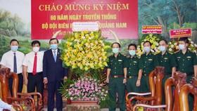 Lãnh đạo tỉnh Quảng Nam thăm, chúc mừng BĐBP tỉnh nhân kỷ niệm 60 năm Ngày truyền thống BĐBP tỉnh