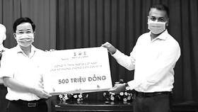 Nestlé Việt Nam ủng hộ Quỹ Vắc-xin phòng chống Covid-19