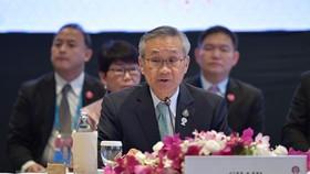 Phó Thủ tướng kiêm Bộ trưởng Ngoại giao Thái Lan Don Pramudwinai. Ảnh: TTXVN