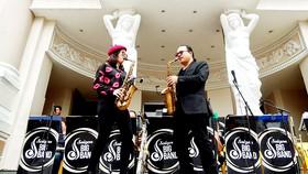An Trần và đam mê saxophone
