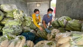 Lâm Đồng hỗ trợ TPHCM 5.000 tấn rau củ